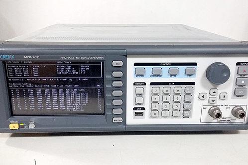 Credix MPD-1700 Broadcasting Signal Generator