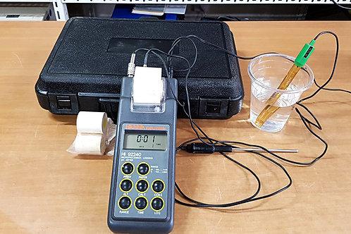 Hanna Instruments HI92240 Microprocessor Logging pH Meter