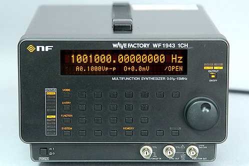 NF Wave Factory WF1943B Multifunction Synthesizer