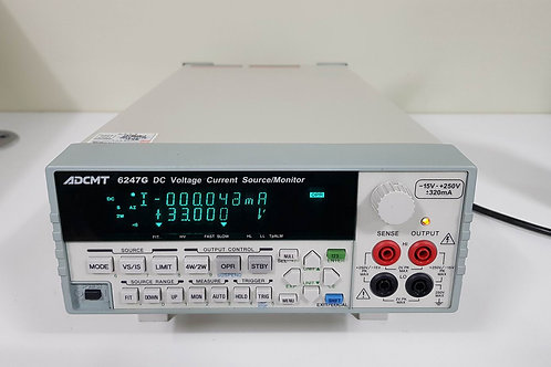 ADCMT 6247G DC Voltage Current Source Monitor