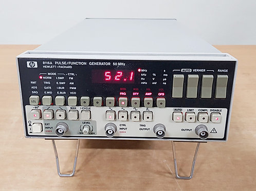 HP 8116A Pulse / Function Generator