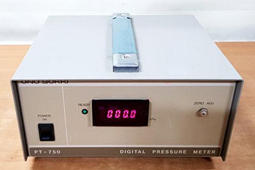 Ono Sokki PT-750 Digital Pressure Meter