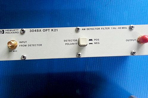 HP 3048A OPT K21 AM Detector Filter