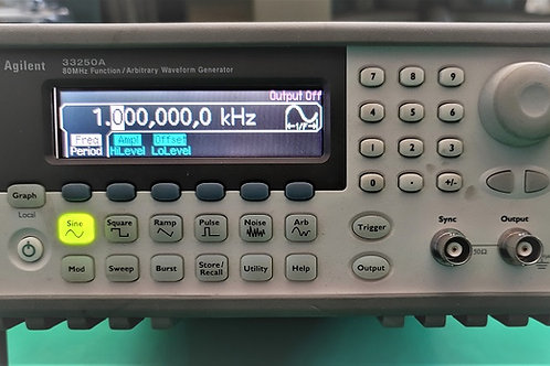 Agilent 33250A Function Arbitrary Waveform Generator 80 MHz