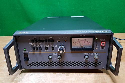 NF HSA 4051 High speed Bipolar Amplifier DC-500KHz