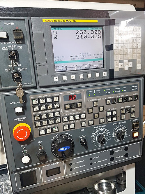 Samsung SMEC PL1600 CNC Turning Center