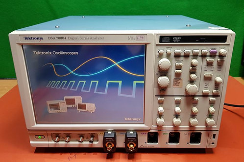 Tektronix DSA 70804 8Ghz 25GS Digital Serial Analyzer