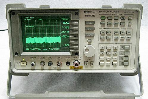 HP 8563E Spectrum Analyzer