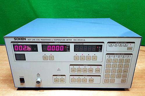 Soken DAC-HR450-UL Hot Line Coil Resistance & Temperature Meter