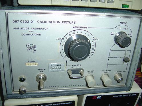 Tektronix 067-0502-01 Calibration Fixture