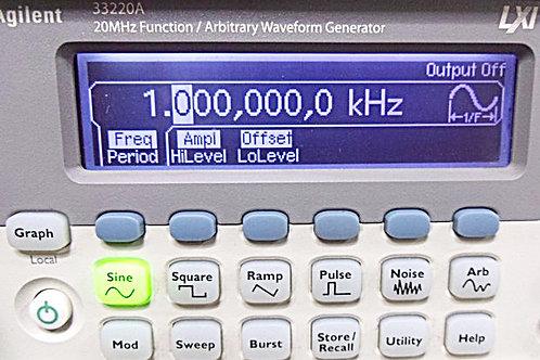 Agilent 33220A Function / Arbitrary Waveform Generator