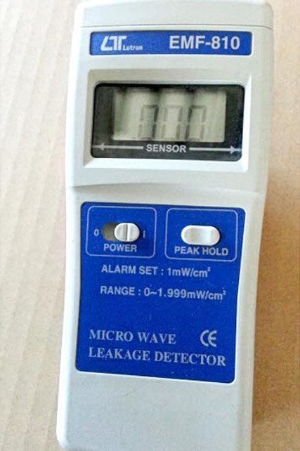 Lutron EMF-810 Micro Wave Leakage Detector