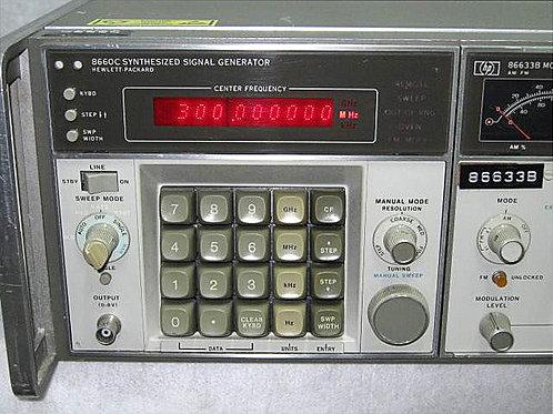 HP 86660C Synthesized Signal Generator