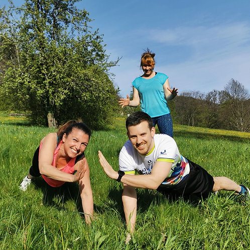 Personal Trainings-Session für Freunde