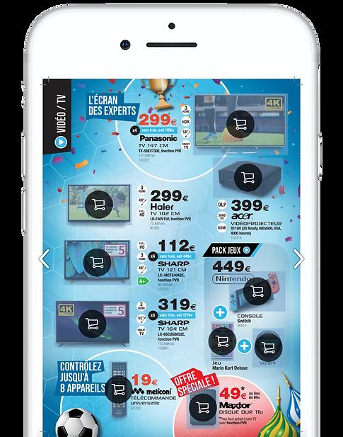 ILECO : application mobile (iOS/Android) 2017