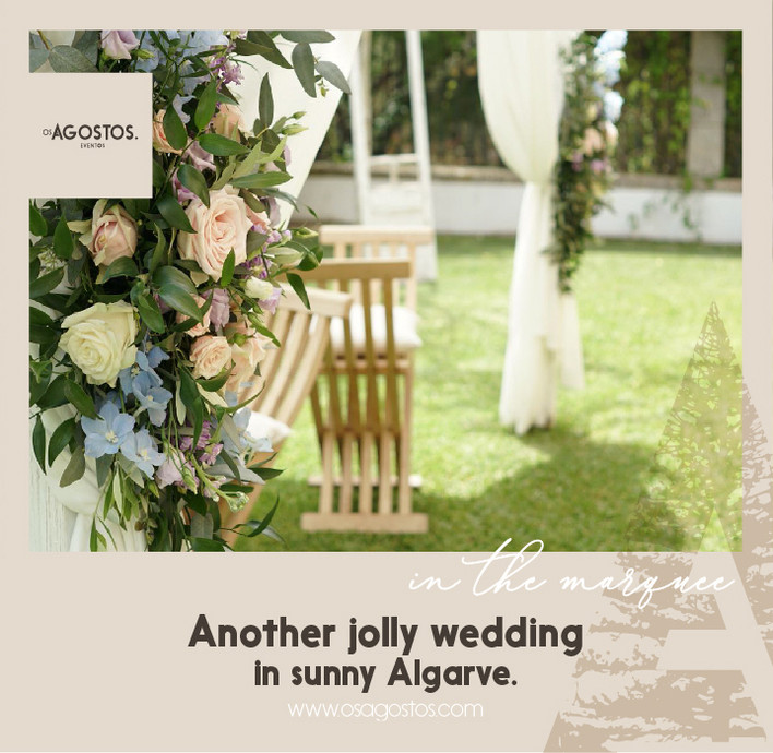 Another jolly wedding in sunny Algarve