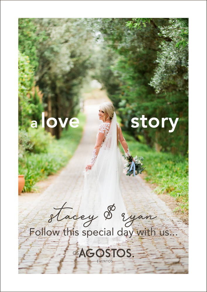 Stacey & Ryan Follow this special day with us! Coming soon!