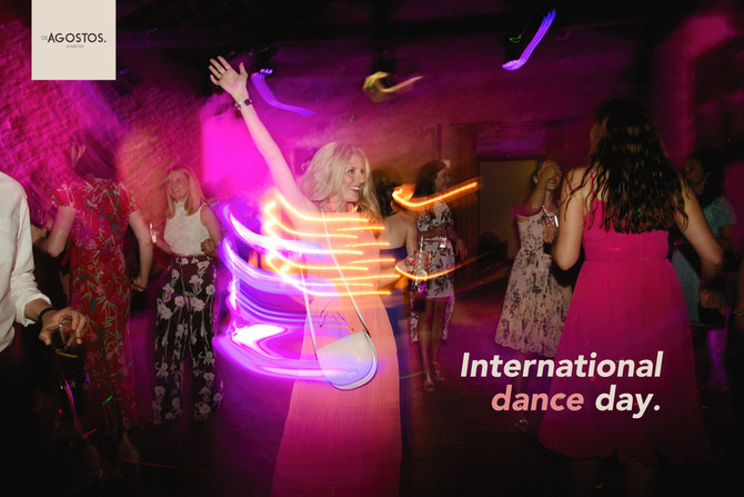 Today is International Dance Day.           The magic of dancing in the Cellar.