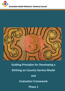 GUIDING PRINCIPLES FOR DEVELOPING A BIRTHING ON COUNTRY SERVICE MODEL AND EVALUATION FRAMEWORK PHASE
