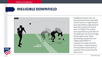 Ineligible Downfield
