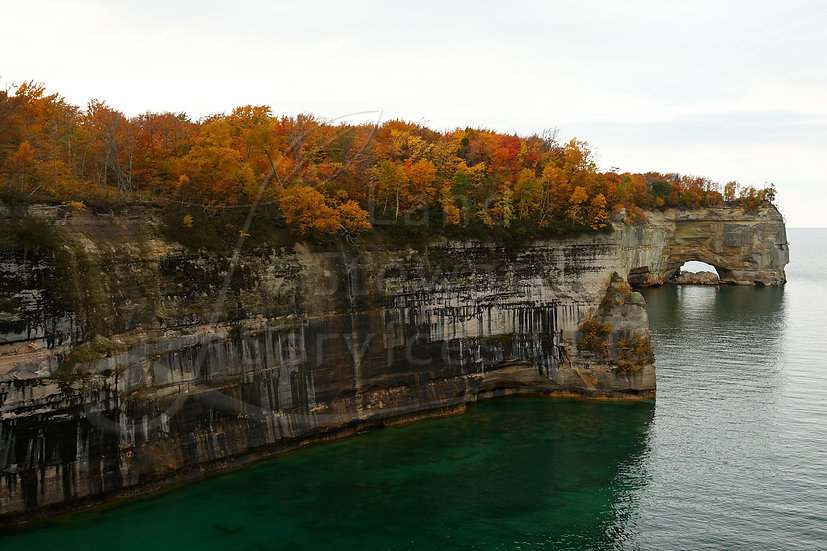 Pictured Rocks Bluff