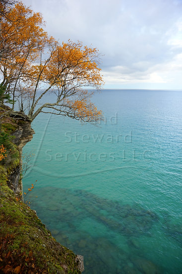 Blue Waters of Lake Superior