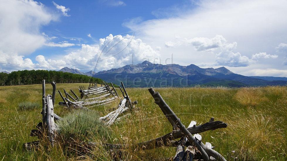 Wilson Peak Worm Fence