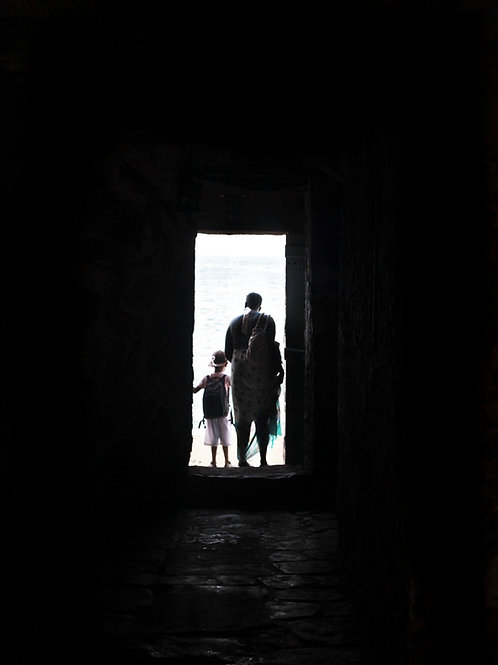 Mother and Son at the Door of No Return