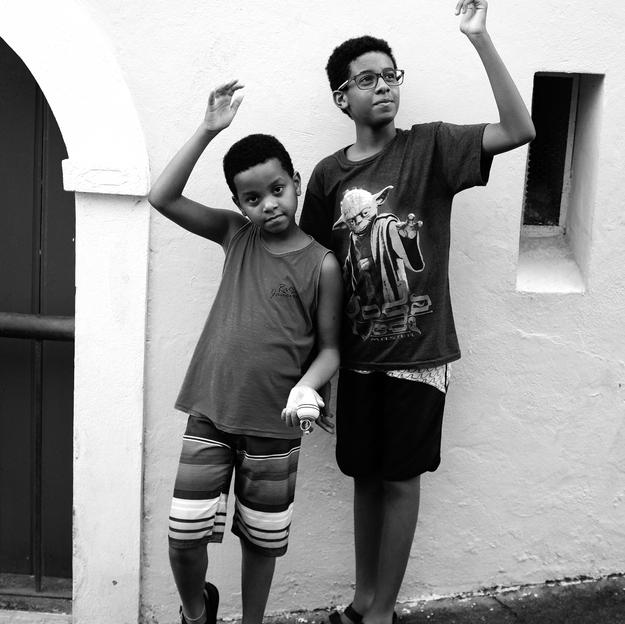 Black brothers