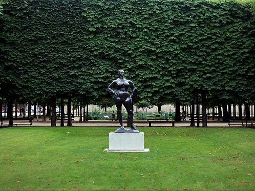 Jardin du Luxembourg.  Paris, France