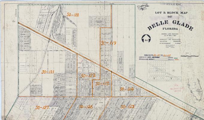 1950 Census Enumeration District Maps -