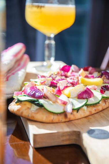 Courgette Pizza I