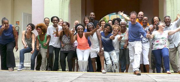 Yoga du rire Martinique