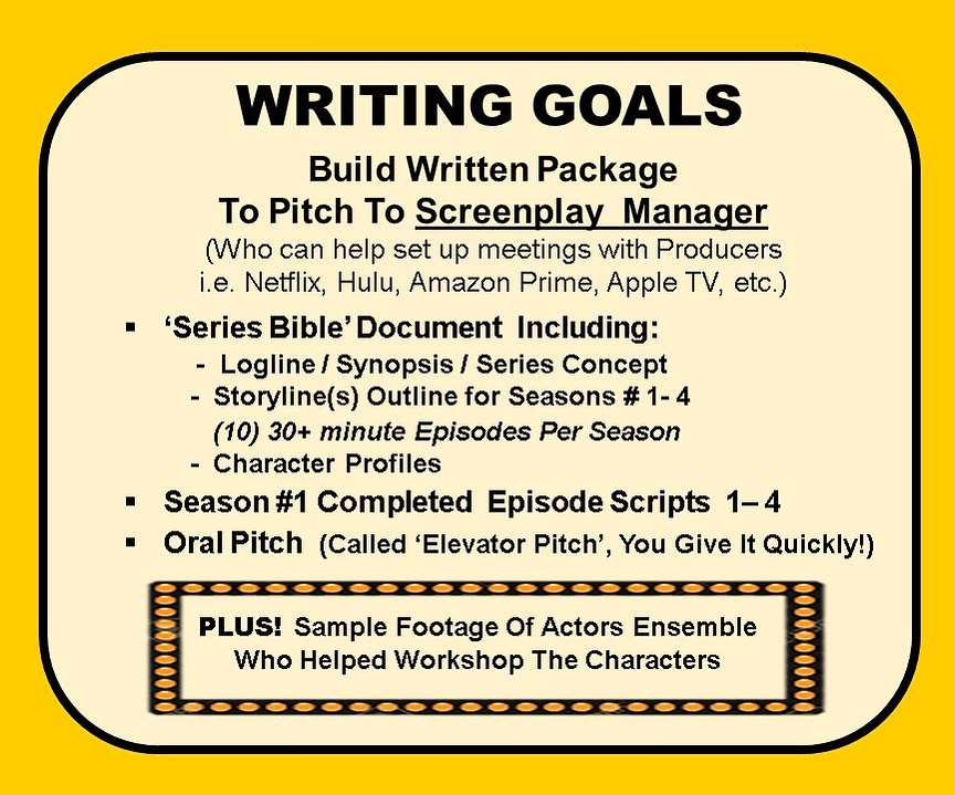 Crew - Writing Goals