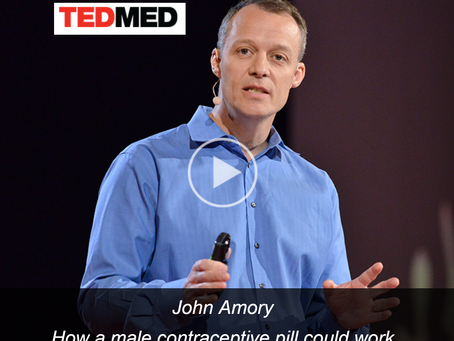 Male Contraception in the Media,  our first TED talk.