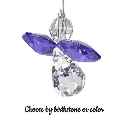 Crystal Birthstone Guardian Angels