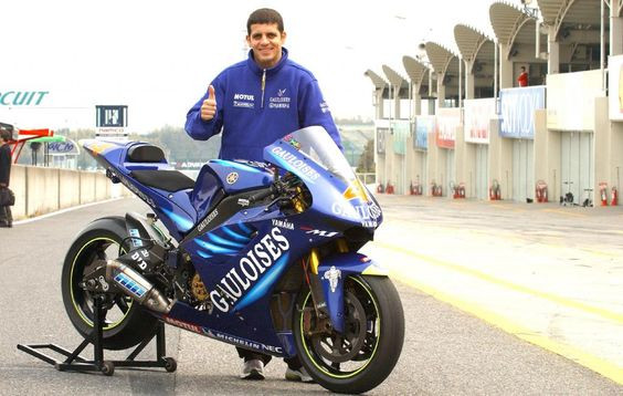 Alex Barros Yamaha Gauloises