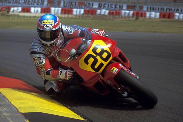 Alex Barros Cagiva GP 500 Alemanha