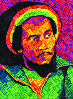 8 _Bob Marley_ Charles Smith
