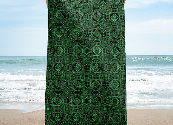 Tribal Tribulations Beach Towel