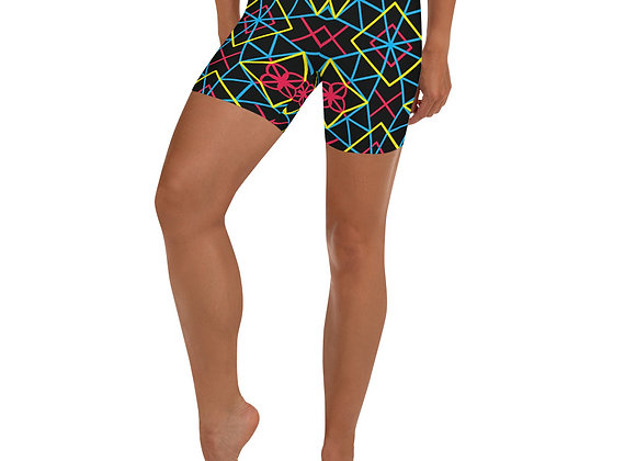 Neon Neurosis Shorts
