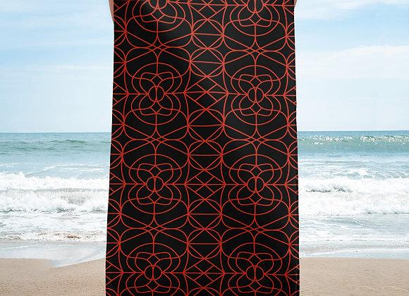 Rosey Receptions Beach Towel