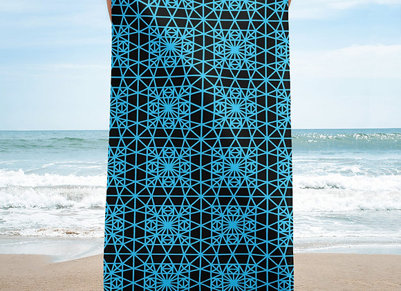 Electric Eclecticism Beach Towel