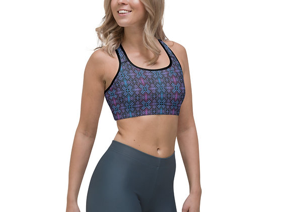 Majestic Melodies Sports Bra