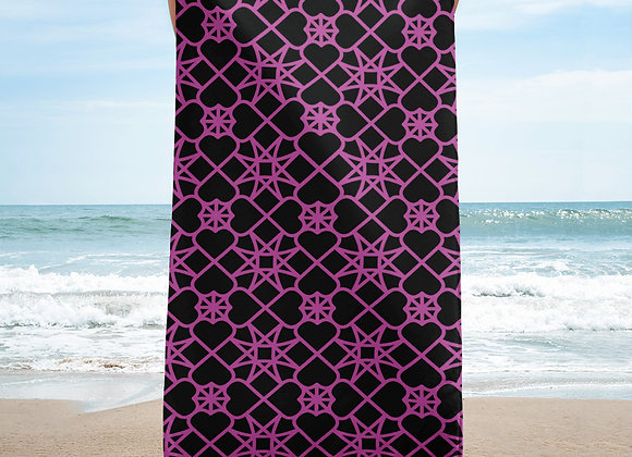 Star Crossed Love Beach Towel