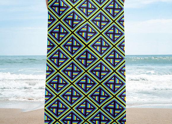 Spiral Storms Beach Towel