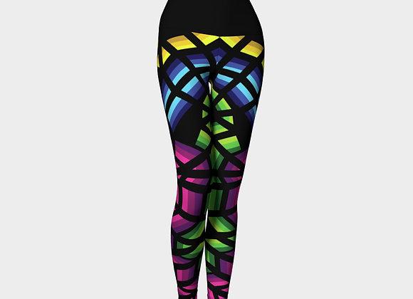 Colour Flow Yoga Leggings