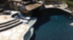 Custom Pool by Ridgefield Pond and Property