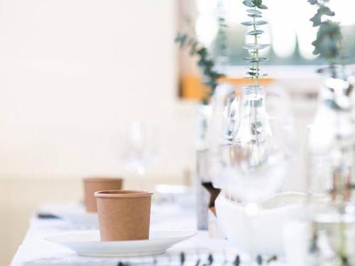 Köstliche Maronischaumsuppe mit Dattelspieß