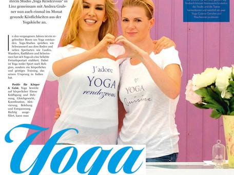 ... wenn Yoga und Essen eine Verbindung eingehen!